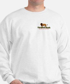 TropiThug Premium Weight Sweatshirt - Lion on Back