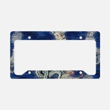 Little Rococo mermaid License Plate Holder