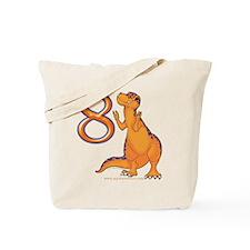 Kids Dino 8th Birthday Gifts Tote Bag