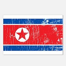 Vintage North Korea Postcards (Package of 8)