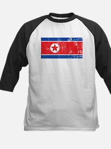 Vintage North Korea Kids Baseball Jersey