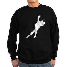 Speed Skater Silhouette Jumper Sweater