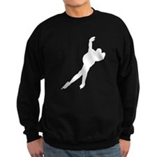 Speed Skater Silhouette Sweatshirt
