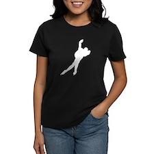 Speed Skater Silhouette T-Shirt