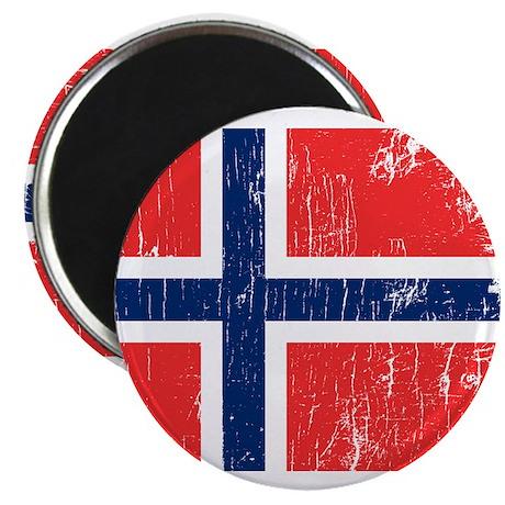 """Vintage Norway 2.25"""" Magnet (100 pack)"""