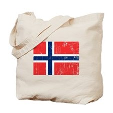 Vintage Norway Tote Bag
