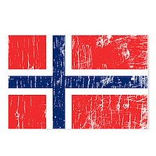 Vintage Norway Postcards (Package of 8)
