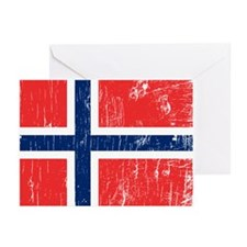 Vintage Norway Greeting Cards (Pk of 10)
