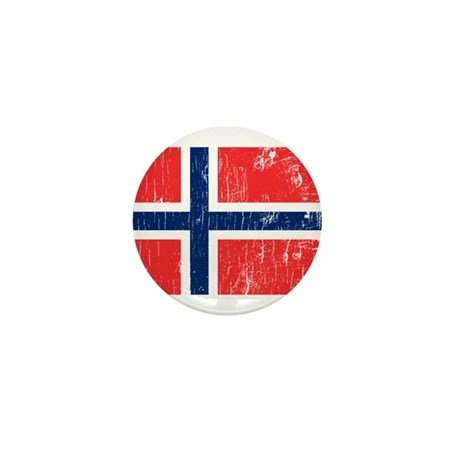 Vintage Norway Mini Button (10 pack)