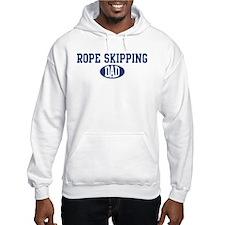 Rope Skipping dad Hoodie