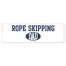 Rope Skipping dad Bumper Bumper Sticker