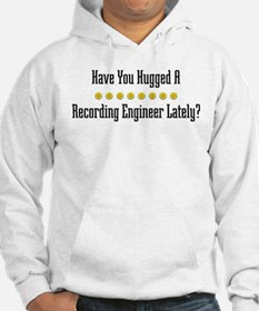 Hugged Recording Engineer Hoodie