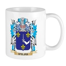 D'Elias Coat of Arms - Family Crest Mugs