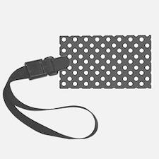 polka dots pattern Luggage Tag
