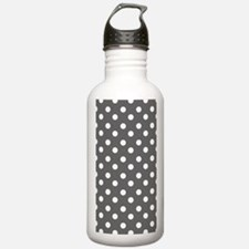 polka dots pattern Water Bottle