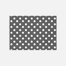 polka dots pattern 5'x7'Area Rug