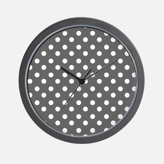 polka dots pattern Wall Clock