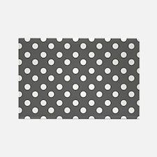 polka dots pattern Rectangle Magnet