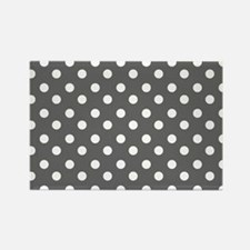 polka dots pattern Rectangle Magnet (100 pack)