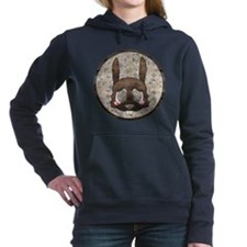 Cool Bunny rabbit Women's Hooded Sweatshirt