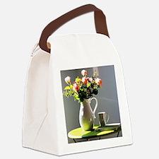 Cute Still life Canvas Lunch Bag