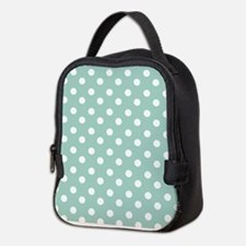 polka dots pattern Neoprene Lunch Bag