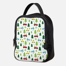 Christmas Tree Holiday Fun Neoprene Lunch Bag