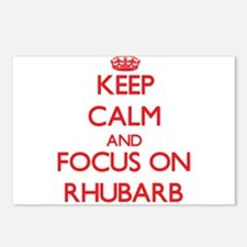 Cute Rhubarb Postcards (Package of 8)