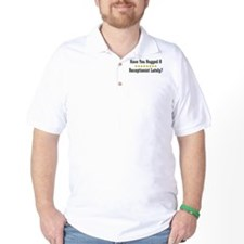 Hugged Receptionist T-Shirt