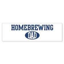 Homebrewing dad Bumper Bumper Sticker