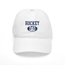Hockey dad Baseball Cap
