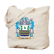 Deluca Coat of Arms - Family Crest Tote Bag