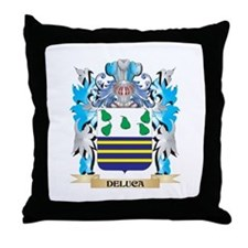 Cute Family coat of arms Throw Pillow