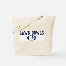 Lawn Bowls dad Tote Bag