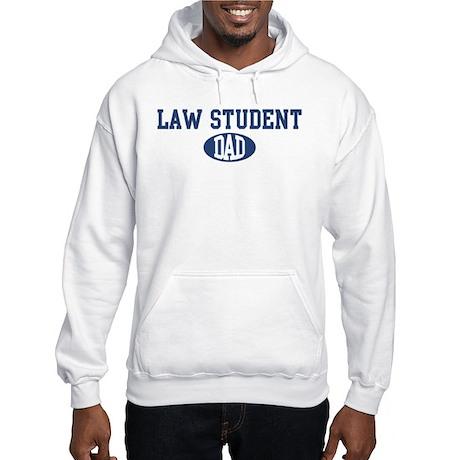 Law Student dad Hooded Sweatshirt