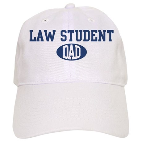 Law Student dad Cap