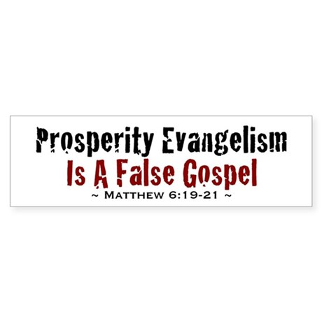 Prosperity - Bumper Sticker