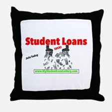 Student Loans Suck Throw Pillow