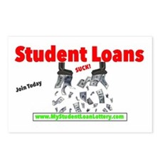 Student Loans Suck Postcards (Package of 8)