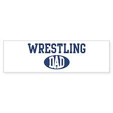 Wrestling dad Bumper Bumper Stickers