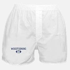 Woodturning dad Boxer Shorts