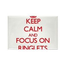 Keep Calm and focus on Ringlets Magnets