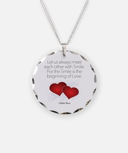Meet With A Smile - Necklace