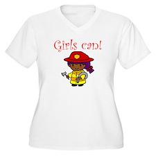 Girl Firefighter T-Shirt