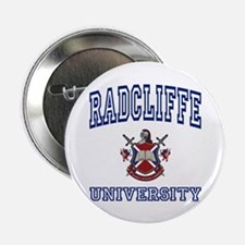 """RADCLIFFE University 2.25"""" Button (100 pack)"""