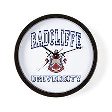 RADCLIFFE University Wall Clock