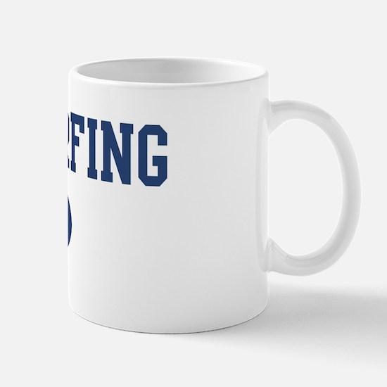Windsurfing dad Mug