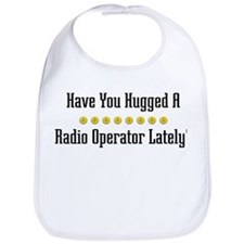 Hugged Radio Operator Bib