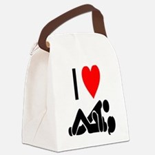 I love Sex Canvas Lunch Bag