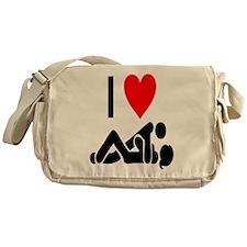 I love Sex Messenger Bag